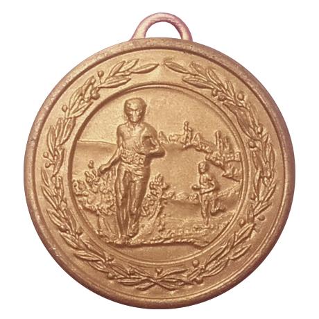 Medalj löpning terräng 38 mm