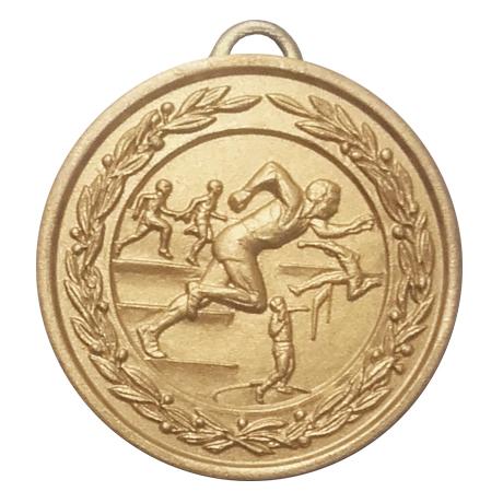 Medalj friidrott 38 mm