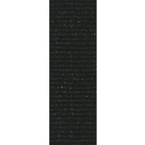 Band långt svart 22 mm