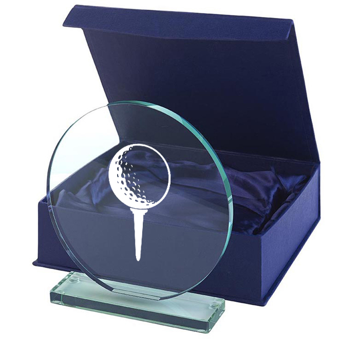Glas Golf 100x100mm