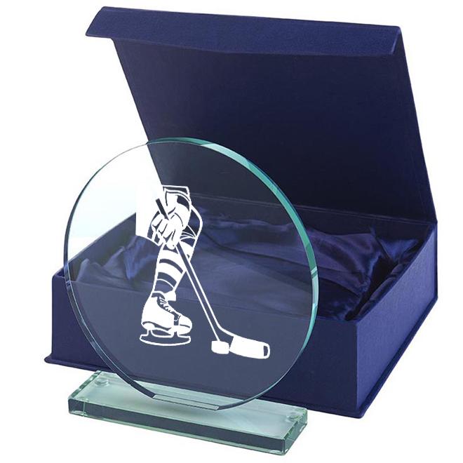 Glas Ishockey 100x100mm