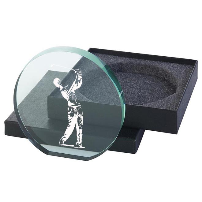 Glas Golfspelare 115x120mm