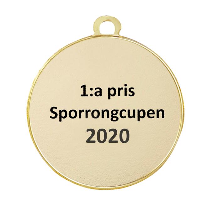 Medalj fotboll 45 mm