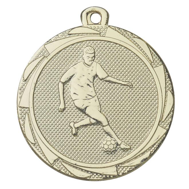 Medalj fotboll man 45 mm