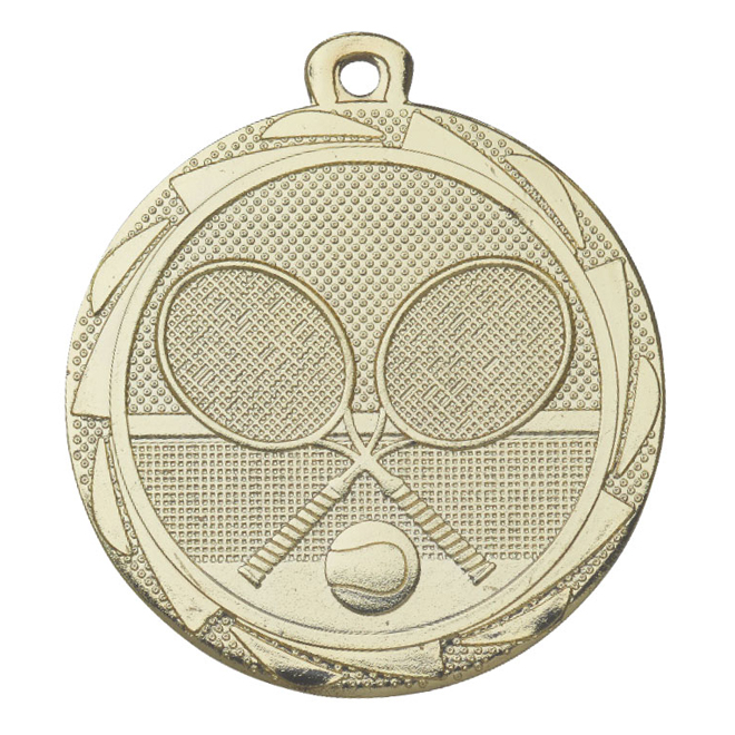 Medalj tennis 45 mm