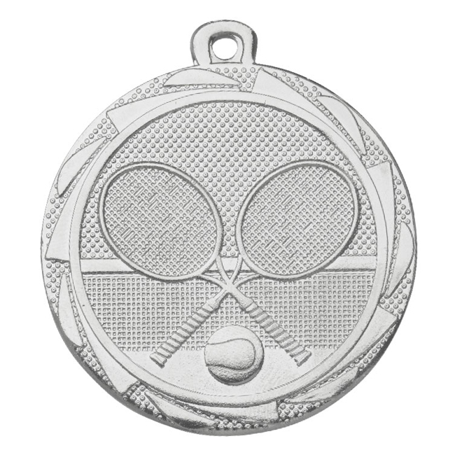 Medalj tennis 45 mm