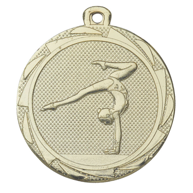 Medalj gymnastik 45 mm