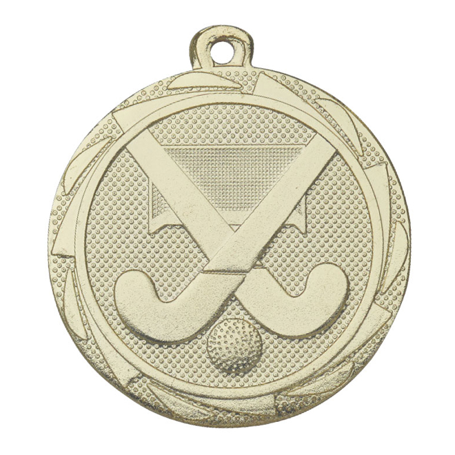 Medalj landhockey 45 mm