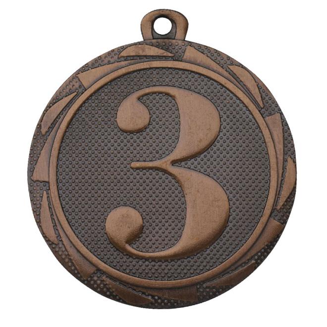 Medalj Ett-Två-Tre 45 mm