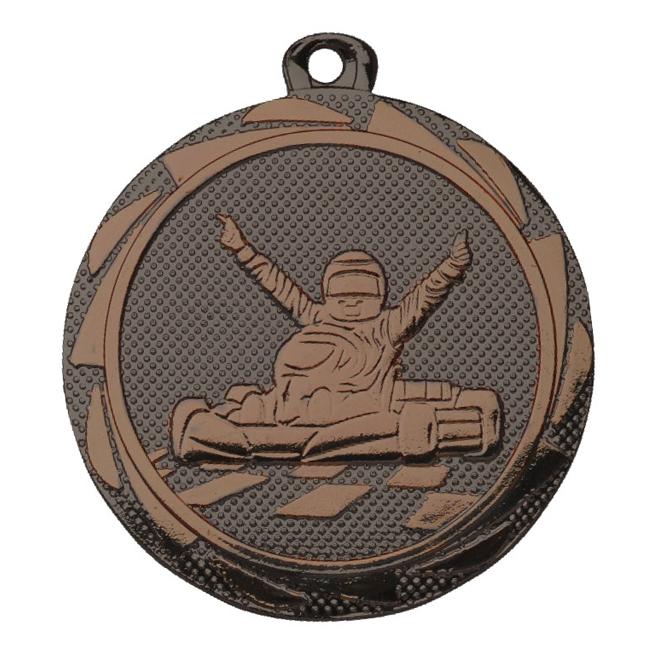 Medalj Gokart 45 mm