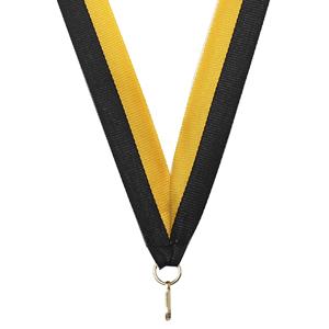 Band svart/gul 22 mm