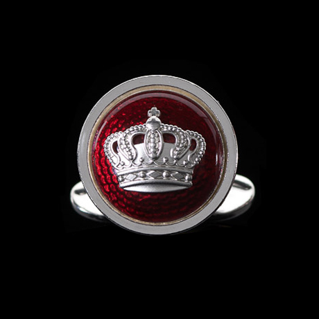 The Crown Röd 17,5 mm